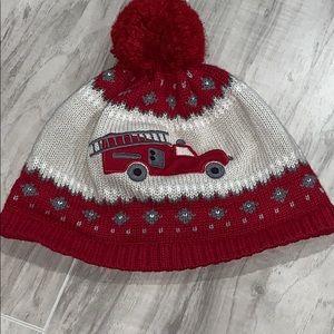 Knit Pom Pom hat.